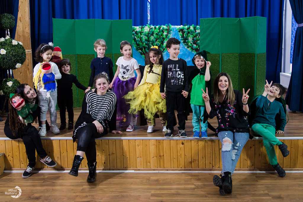 Cursurile de actorie MiniArtShow by Ioana Ginghină