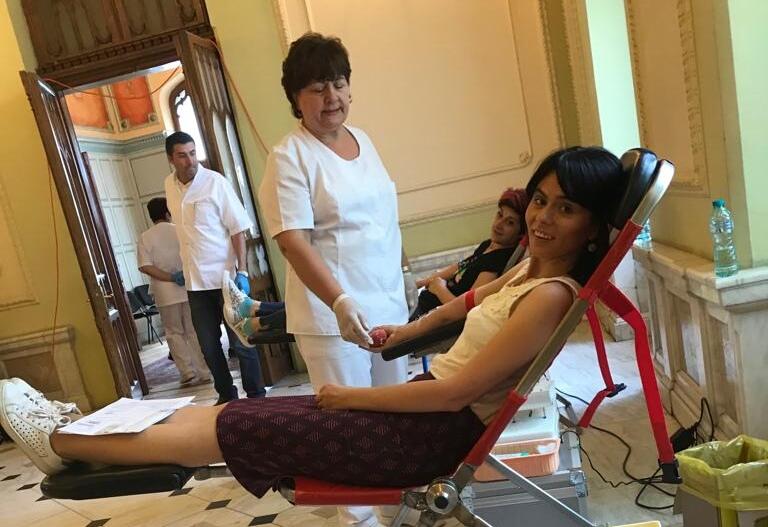 cum a fost să donez sânge pentru prima dată