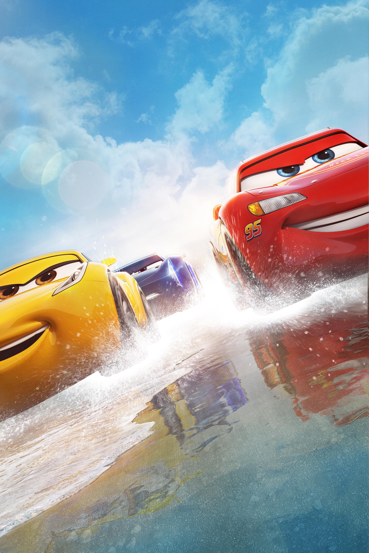 Maşini 3_Fulger McQueen şi Cruz